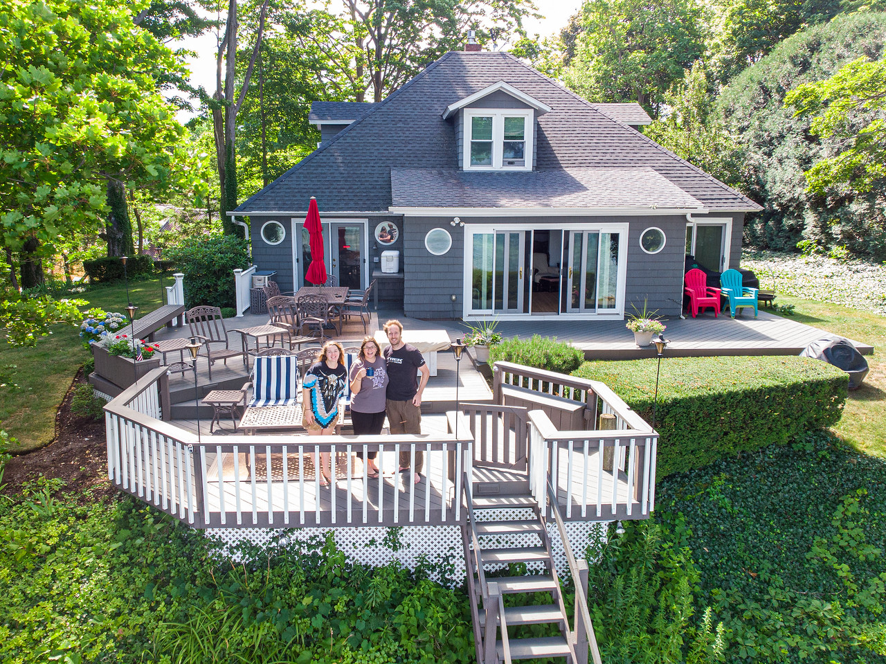 Lake Erie lake house