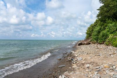 Lake Erie shore