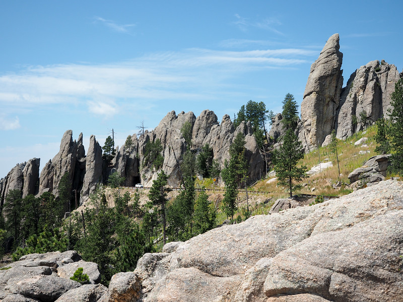 Needles Highway in Custer State Park, South Dakota
