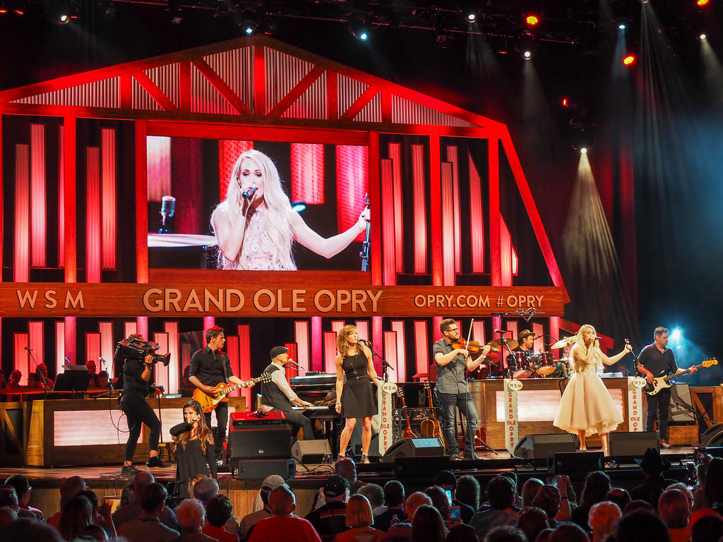 Carrie Underwood at the Grand Ole Opry