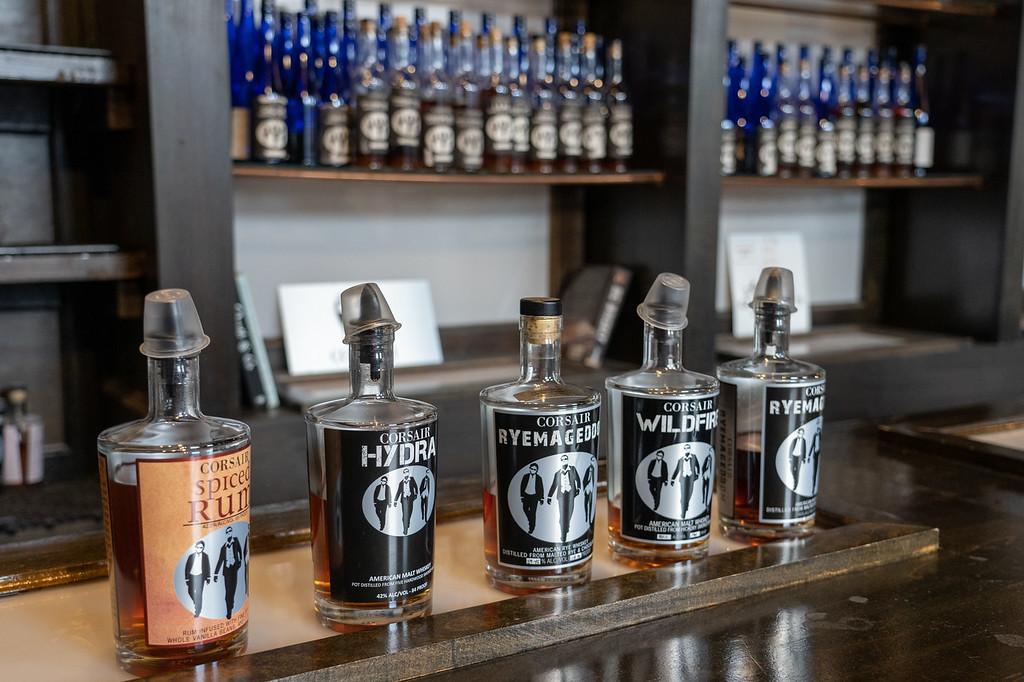 Tasting at Corsair Distillery