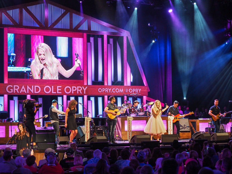 Carrie Underwood at the Grand Old Opry