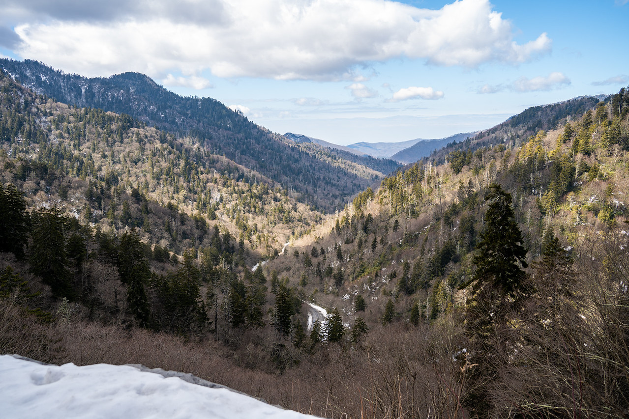 Great Smoky Mountain National Park view
