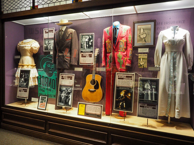 Exhibit at the Ryman Auditorium