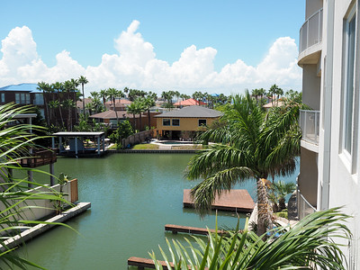 Canals on South Padre Island