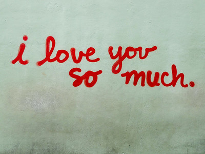 I Love You So Much mural in Austin