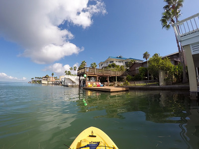 Paddleboarding the Laguna Madre on South Padre Island