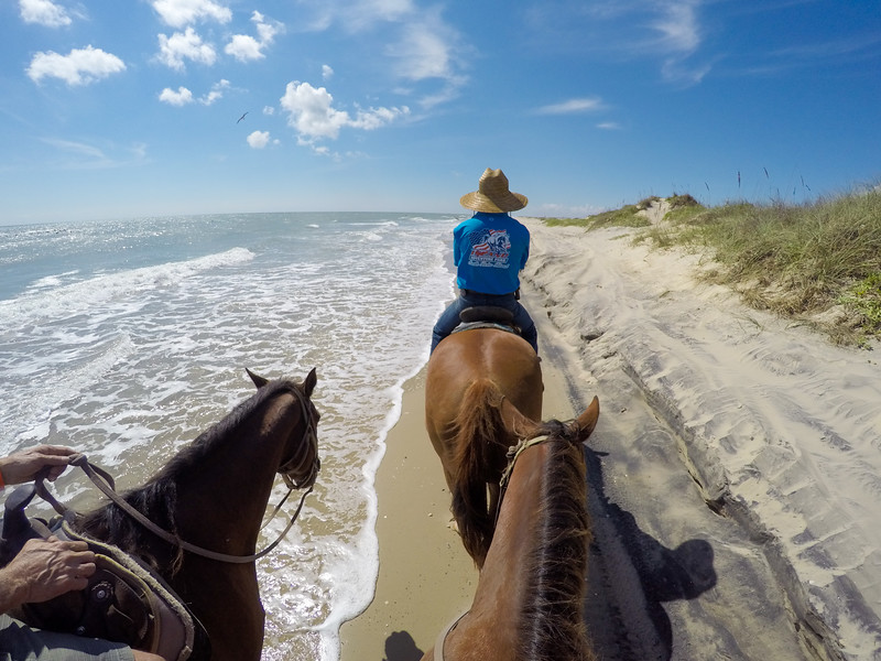 Horseback riding on South Padre Island