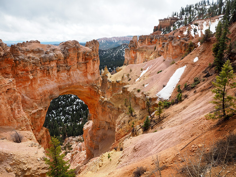 Natural Bridge at Bryce Canyon National Park