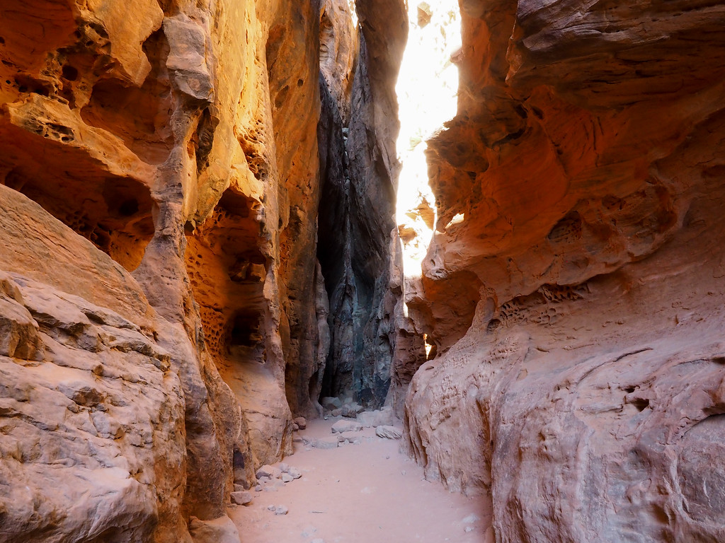 Jenny's Canyon in Snow Canyon State Park