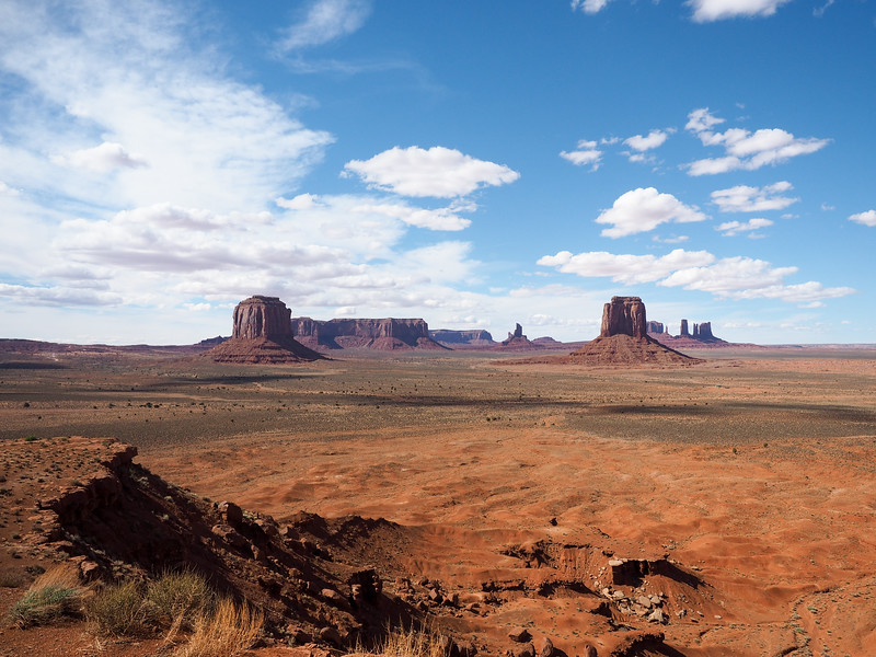 Artist's Point in Monument Valley
