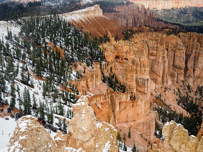 Rainbow Point at Bryce Canyon National Park