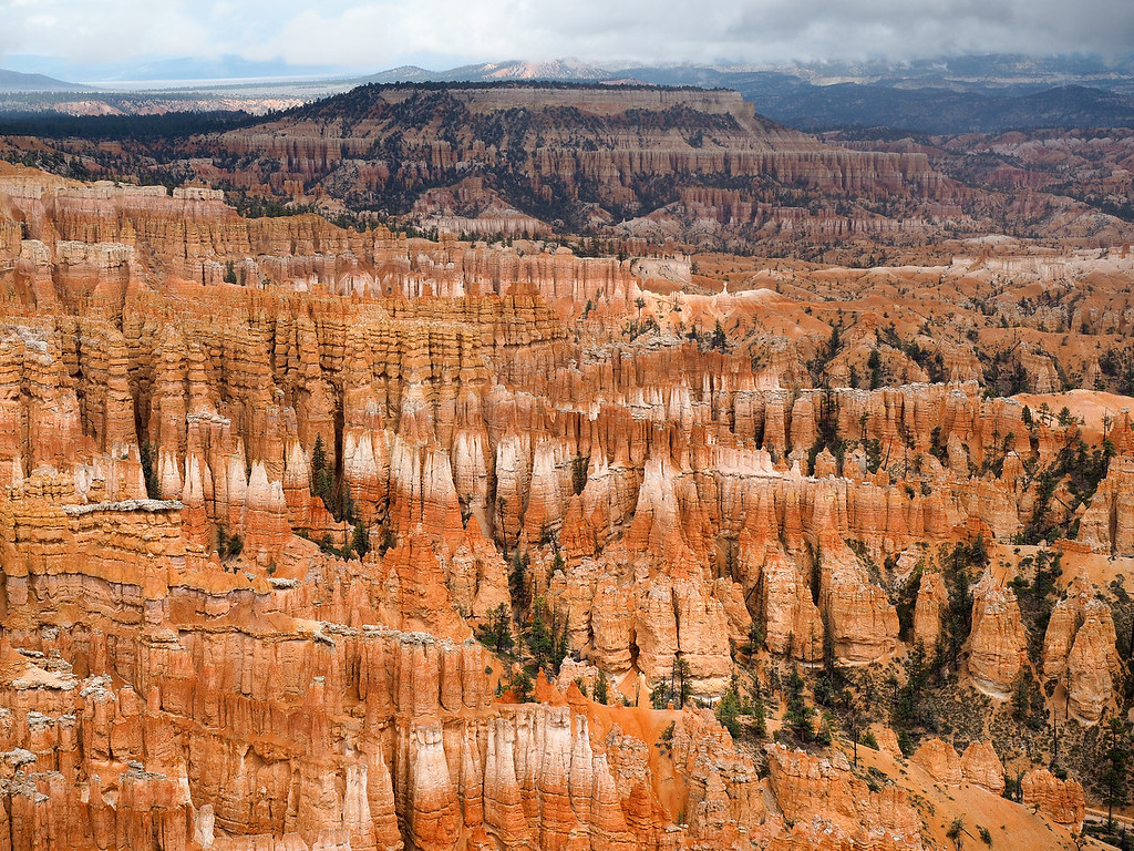 Inspiration Point at Bryce Canyon National Park