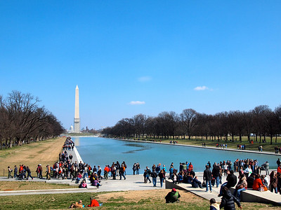 Reflecting Pool in Washington, DC