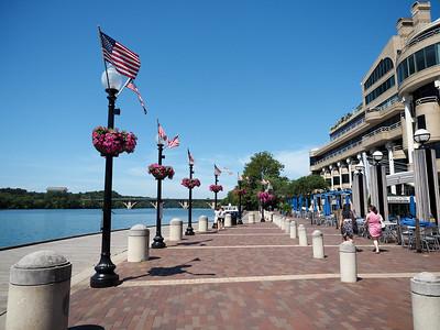 Potomac waterfront in Georgetown