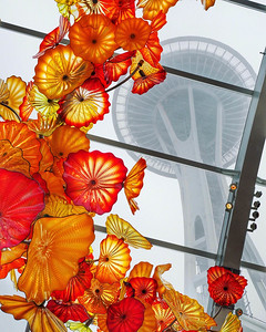 Chihuly Gardens and Glass in Seattle
