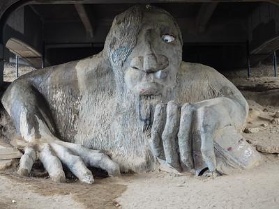 Fremont Troll in Seattle