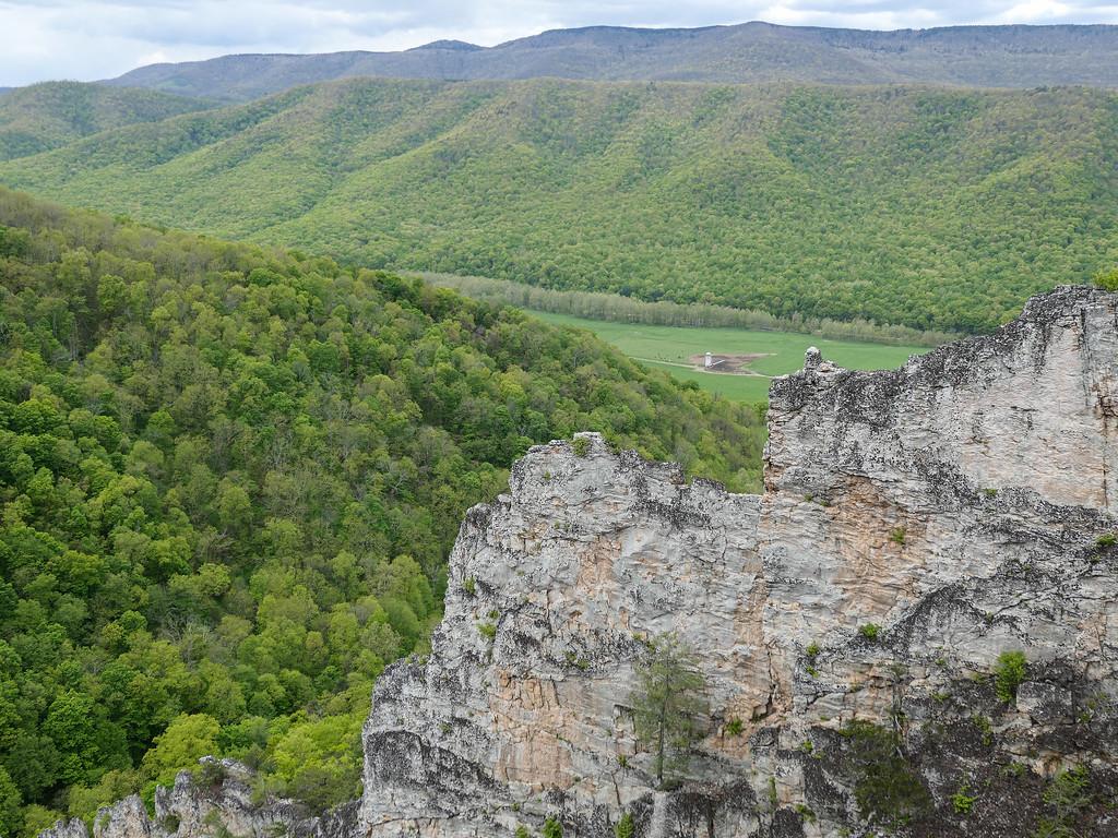 Nelson Rocks in West Virginia