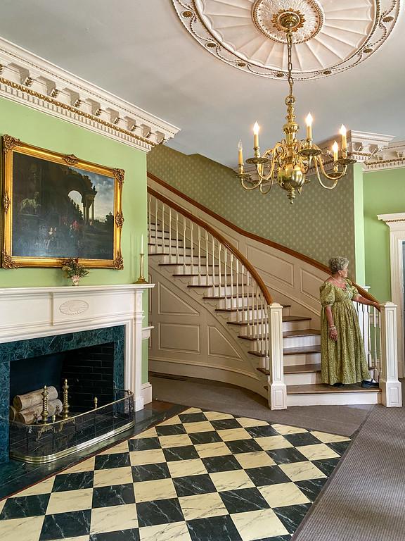 Inside Blennerhassett Mansion