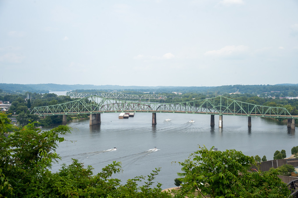 View from Fort Boreman Park