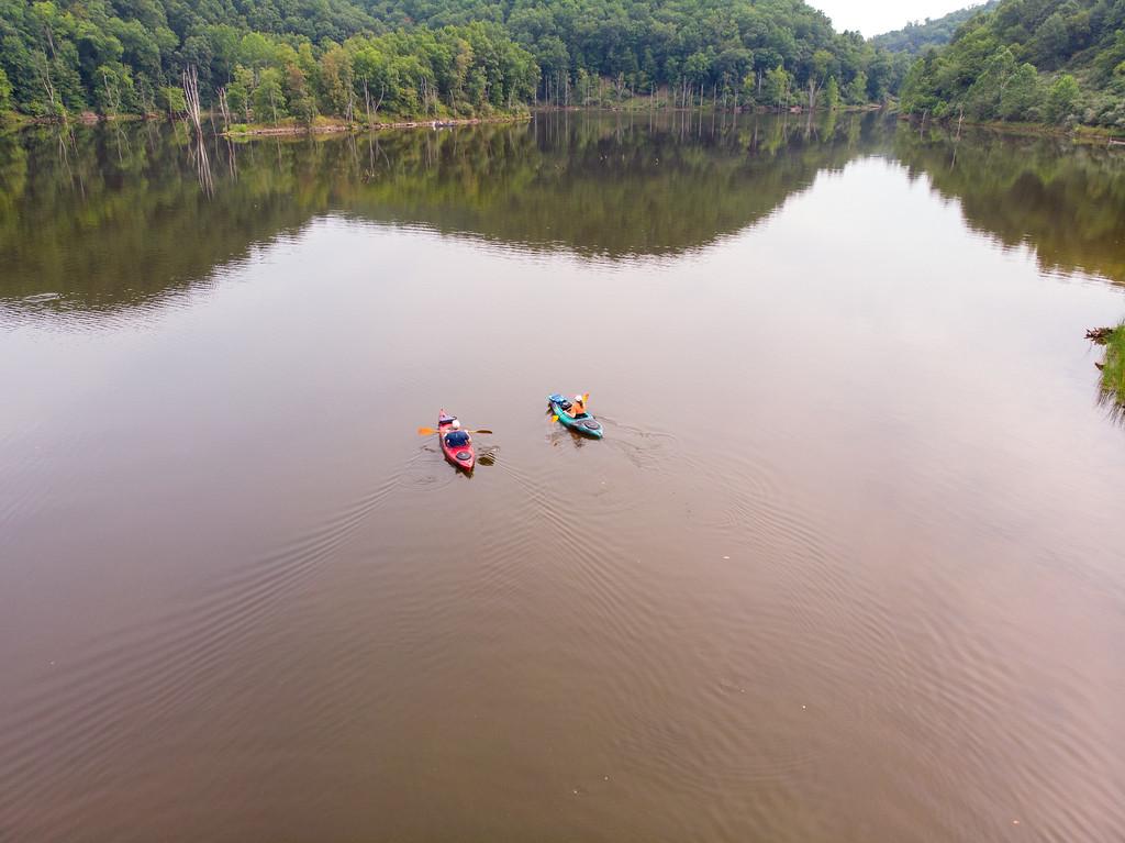 Kayaking on North Bend Lake