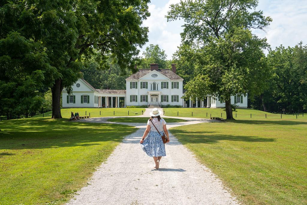Blennerhassett Mansion in West Virginia