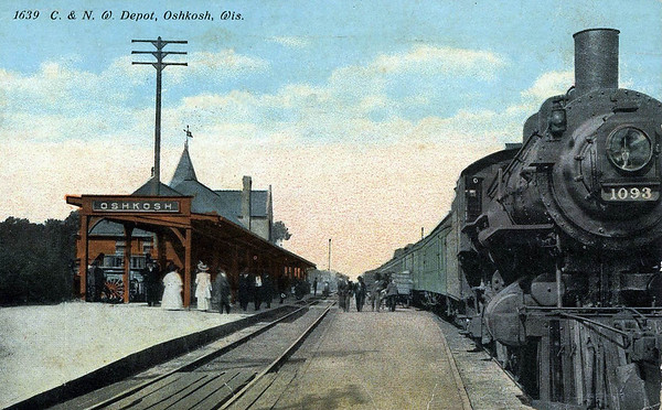 C and N W Depot, Oshkosh