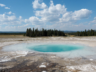 Opal Pool in Midway Geyser Basin