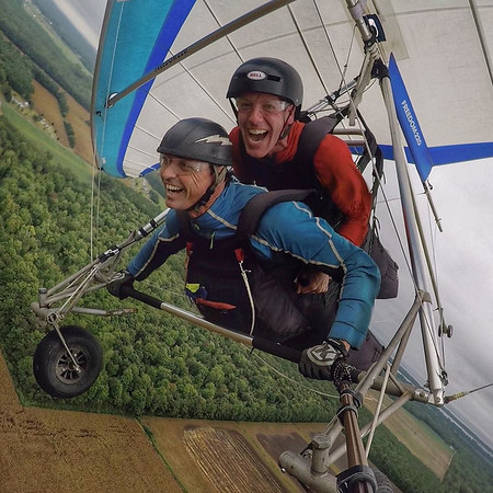 Hang Gliding on the Eastern Shore of Virginia