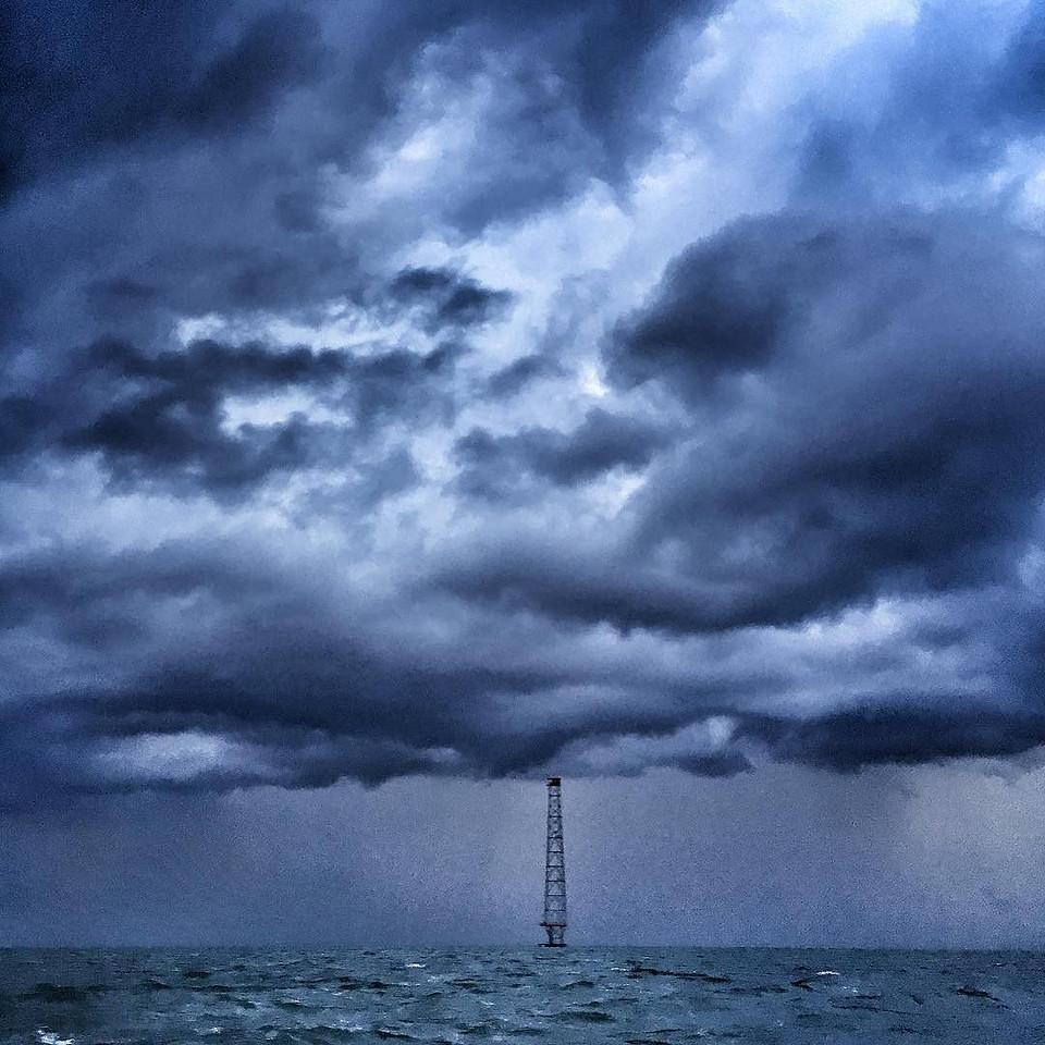 Storm Front - Silver Beach, Virginia.