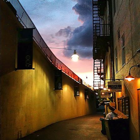 Urban sunset, #Scranton PA