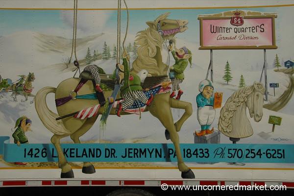 Carousel Horse - Scranton, Pennsylvania