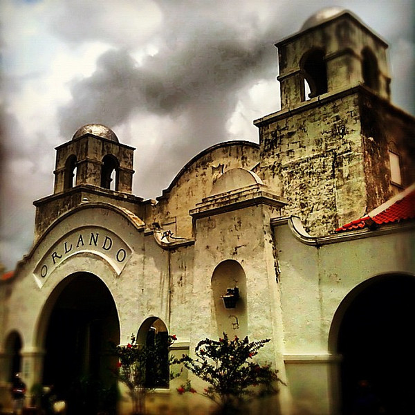 Old Church St. Amtrak Station, Orlando - love the old Spanish mission style #train
