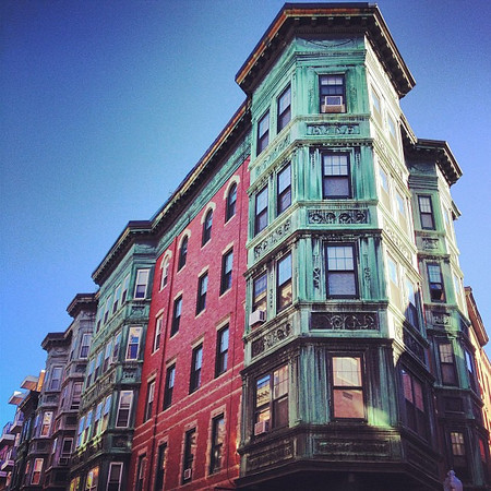 North End, Boston's Little Italy. As touristy and restaurant-filled as it is, neighbors still shout to each other across streets and above to balconies, names like Jimmy, Vito and Vera.