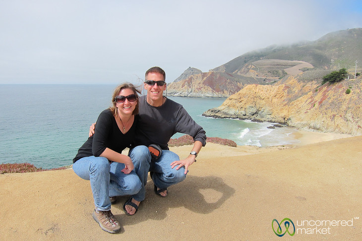 Dan & Audrey on the California Coast
