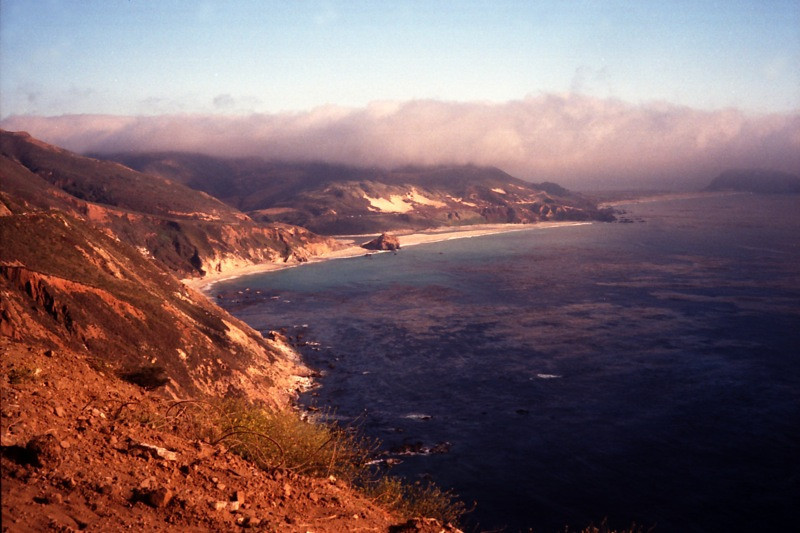Big Sur Coastline of California - United States