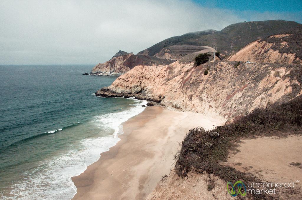 California Coast Between San Francisco and Monterey