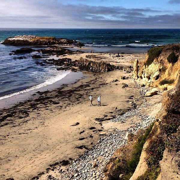 A walk on the beach, Central Coast #California