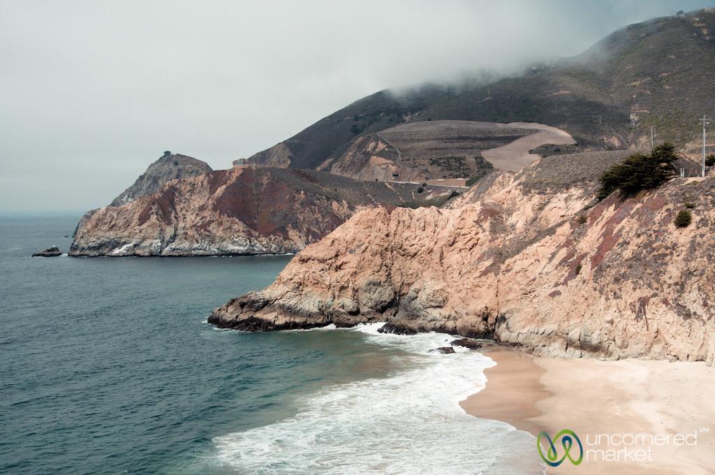 California Coast, Route 1 Between San Francisco and Monterey