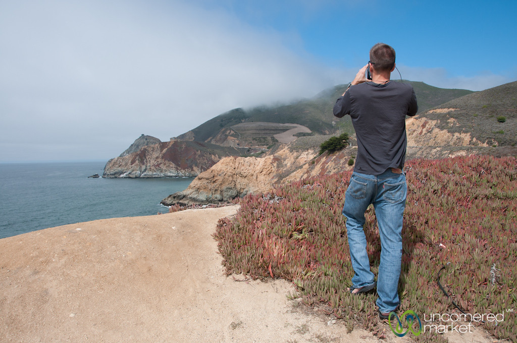 Dan on the California Coast
