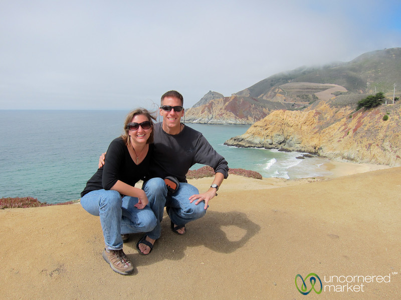 Dan and Audrey on the California Coast - PCH 1 Between San Francisco and Monterey