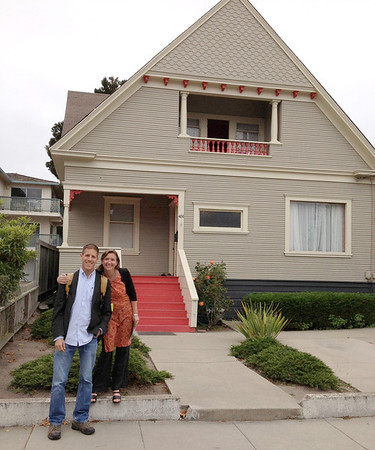 Dan & Audrey in Monterey, California