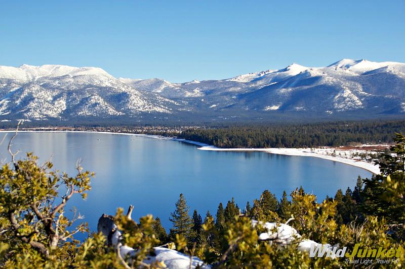 lake tahoe emerald bay - road trip in nevada