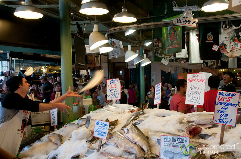 Flying Fish at Pike Place Market - Seattle