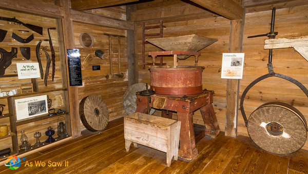 Old farm machines.