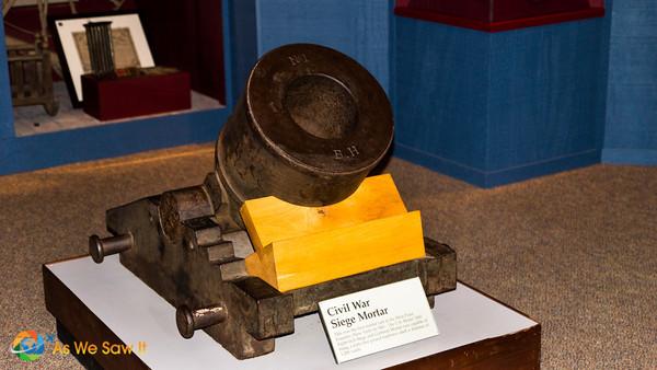 Civil war siege cannon