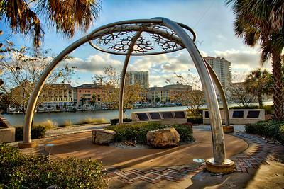 Downtown Tampa, Florida Art