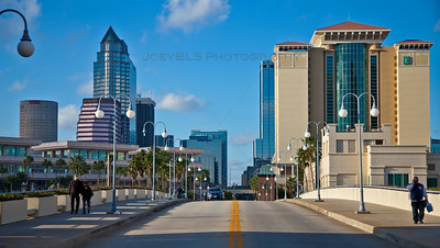 Tampa Bay from the Harbour Island Bridge