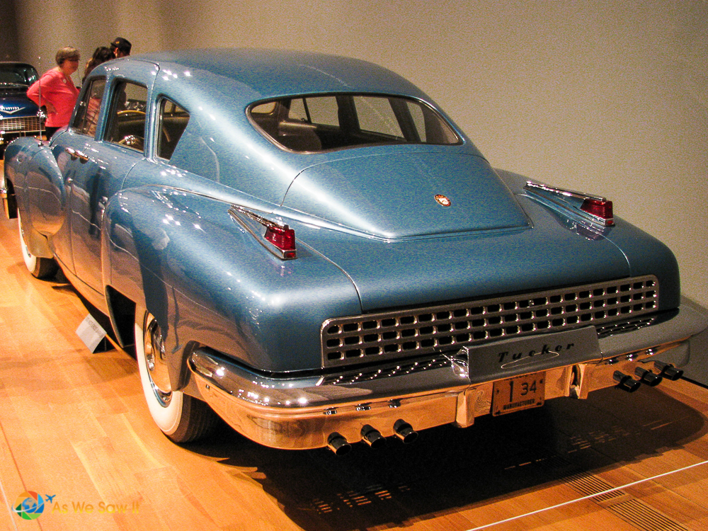 1948 Tucker Model 48 Torpedo rear