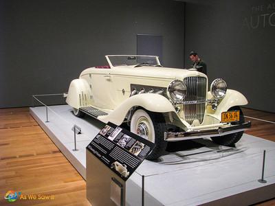 1935 Duesenberg JN Roadster, formerly owned by Clark Gable